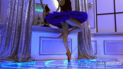 Nastya - Blue Tutu and Legs Ballet_4