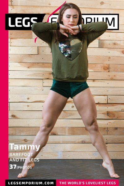 Tammy - Barefoot and Fit Legs COVER