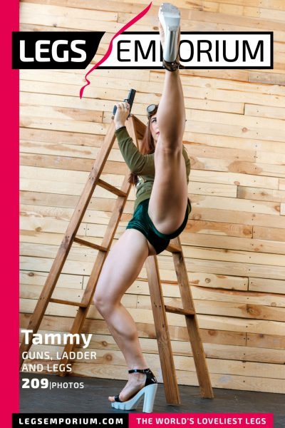 Tammy - Guns, Ladders, and Legs COVER
