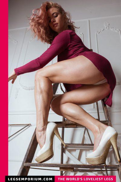 Anastasia - Redhead Legs Bombshell b-COVER