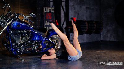 Alexa - Bad-Ass Biker Babe Legs 3_6