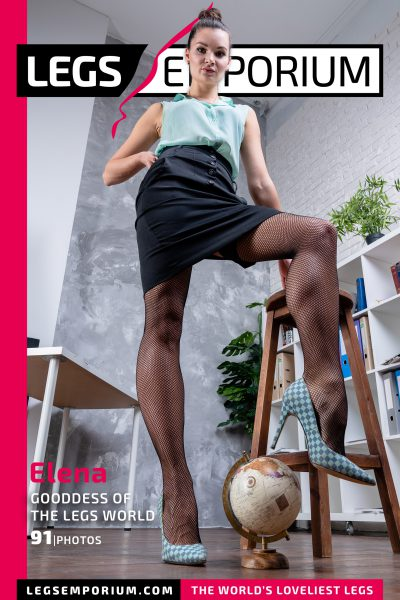 Elena - Gooddess of the Legs World COVER