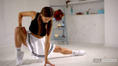 Candice - Mini-Skirt and Beautiful Legs 4K_7