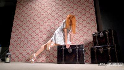 Julia - Long Legs Bent Over_2