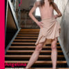 Angelina - Stairs to Her Juicy Calf Muscles