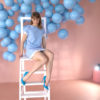 [4K] Maria - Blue Dress, Blue Heels, Killer Legs 2