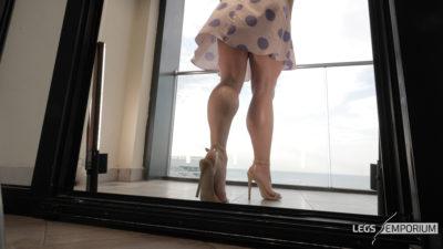 Gloria - Balcony View of Glorious Legs Beauty 1_1